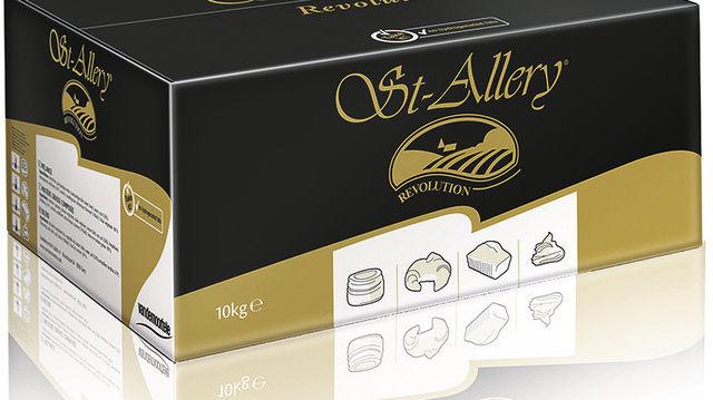 Die Back-Melange St. Allery Revolution wird wie Margarine verarbeitet.