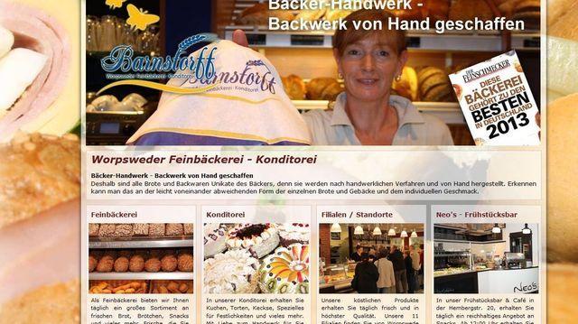 Die Feinbäckerei Barnstorff expandiert durch Zukauf.  (Quelle: Screenshot)