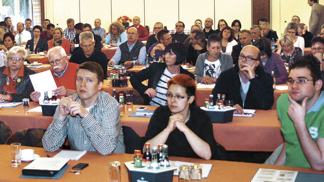 Rund 90 Teilnehmer zeigen großes Interesse an den Themen der dritten Hygiene-Fachtagung des Bäckerinnungsverbands.  (Quelle: BIV/hmsmedien)