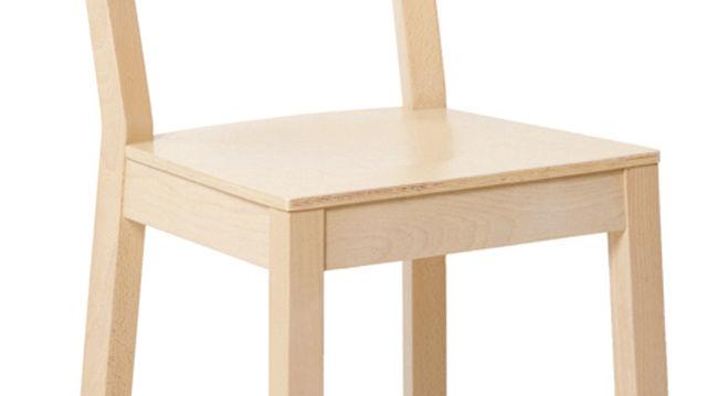Neue Stuhltrends: Schlicht in der Form, hochwertig beim Material.
