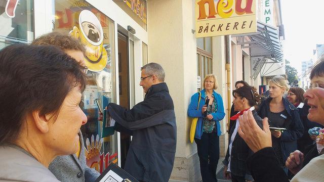 Die Bäckerei Neu ist eine der Stationen der Aktion Karlsruher Mehlspur.  (Quelle: Zimmermann)