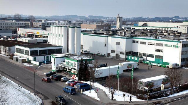 Längst dicht: Die ehemalige Produktionsstätte von Müller-Brot in Neufahrn.  (Quelle: Archiv/Unternehmen)