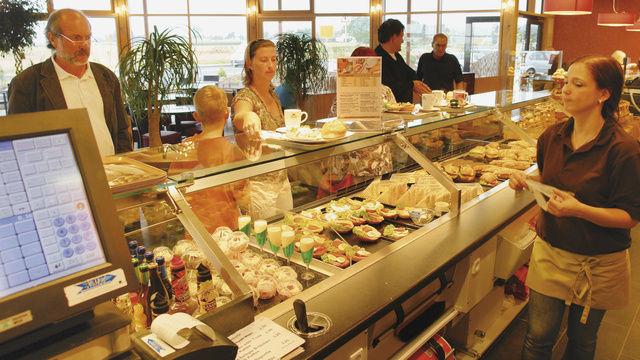Bäcker Mack in Butzbach betreibt das Snackgeschäft seit Jahren systematisch – und sehr erfolgreich.  (Quelle: Archiv)