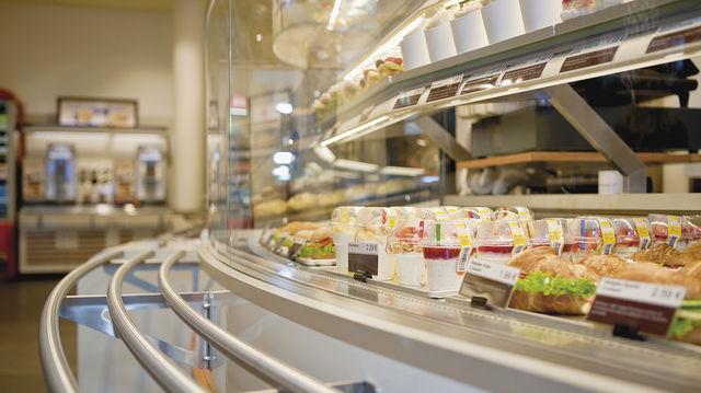 Kalte und warme Snacks bestimmen nun das Sortiment.  (Quelle: Unternehmen)