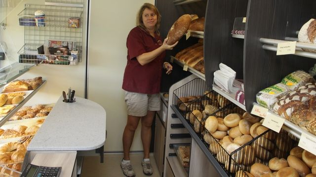 Der Verkaufswagen erfüllt die Anforderungen der Bäckerei Tent.  (Quelle: Heck)