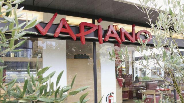 Bahnreisende können sich bei Vapiano bald auch unterwegs mit Pizza und Pasta versorgen.  (Quelle: Bohnet)