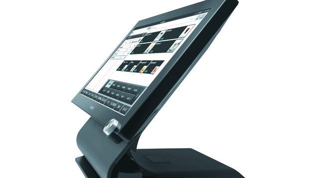 So sehen die neuen Kassen- und Informationsterminals von Casio aus.