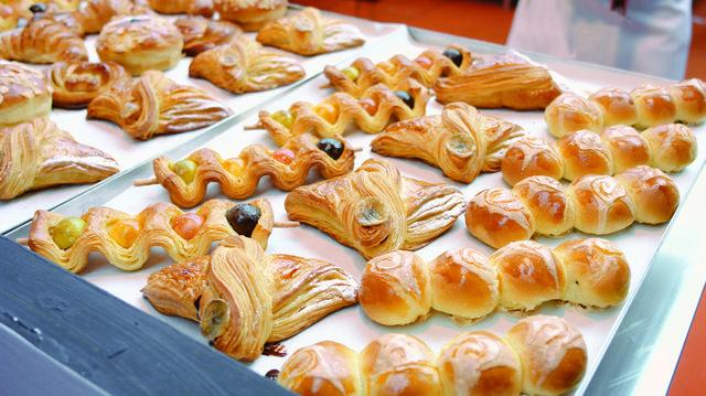 Ein kennzeichen der Messen sind ein umfangreiches Rahmenprogramm mit Wettbewerben für Bäcker und Konditoren:  (Quelle: Archiv/Kauffmann)