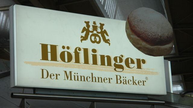 Die Bäckerei Höflinger ist an vielen Standorten in München präsent.  (Quelle: Archiv/Kauffmann)