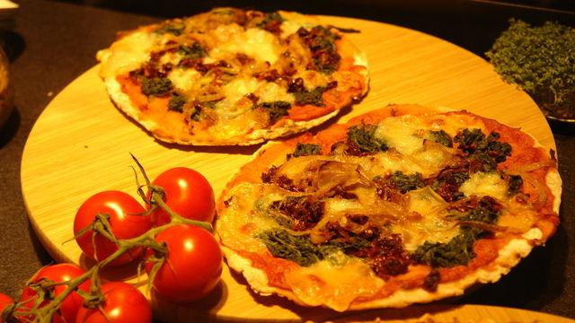 Pizza klassich oder vegan - beim Lieferdienst World of Pizza hat der Kunde die Wahl.  (Quelle: Kauffmann)