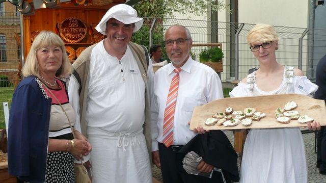 Beim Aktionstag in Berlin machen Bäcker aus ganz Deutschland mit. (Quelle: Wolf)