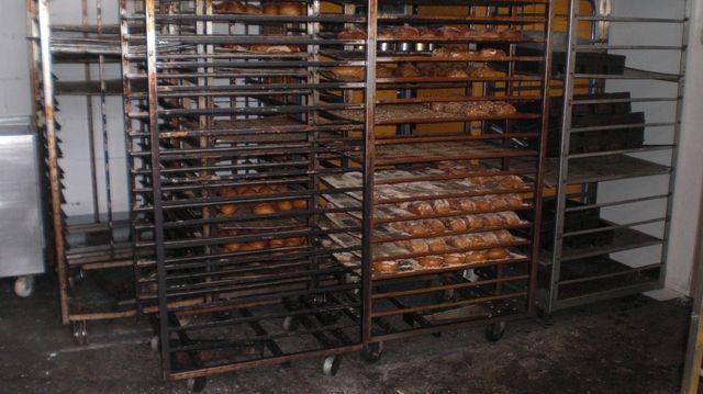 Es mangelt nicht nur an der Grundhygiene im Betrieb. Ratten und Mäuse verunreinigten Maschinen, Geräte und Backwaren. (Quelle: Stadt Frankfurt)