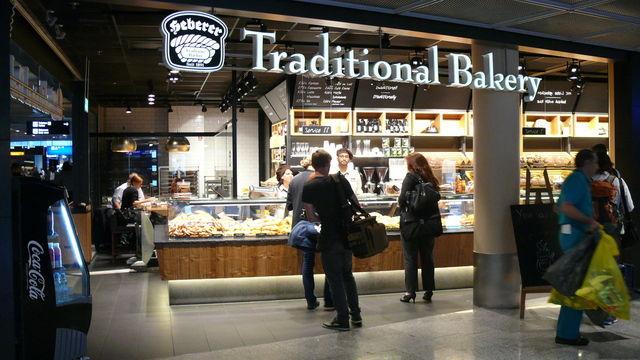 Die Wiener Feinbäckerei Heberer am Standort Flughafen Frankfurt, einem von vielen mit hohem Publikumsverkehr. (Quelle: Archiv / Kauffmann)