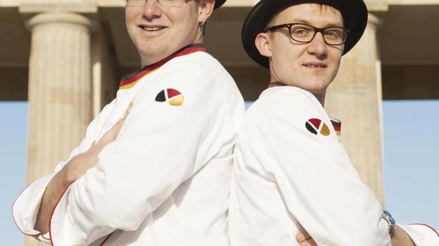 Marc Mundri und Felix Remmele vertreten Deutschland. (Quelle: privat)
