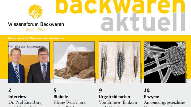 """Titelblatt der Ausgabe 3/2015 von """"backwaren aktuell"""". (Quelle: Screenshot /ABZ)"""