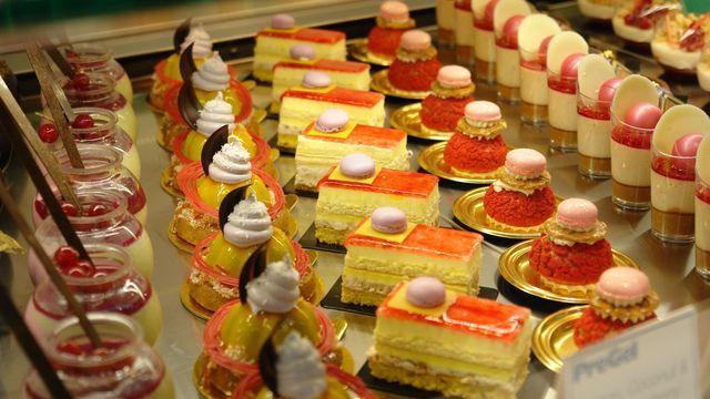 Auf der Fachmesse werden die neuesten Eis- und Dessertkreationen sowie süße Backwaren präsentiert.  (Quelle: Kauffmann / Archiv)