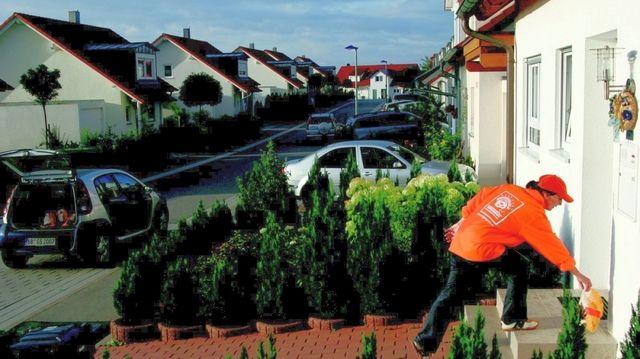 Der Lieferdienst Morgengold arbeitet mit Backbetrieben zusammen und liefert die Brötchen bis vor die Haustüre.  (Quelle: Archiv/Unternehmen)