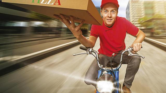 Werden Bestellsysteme noch einfacher zu bedienen, wird der Pizza-Lieferdienst einer von vielen. (Quelle: Fotolia/lassedisgnen)
