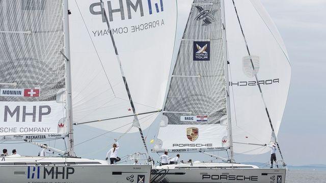Das Match Race wird im Mai auf dem Bodensee ausgetragen. (Quelle: Firma)