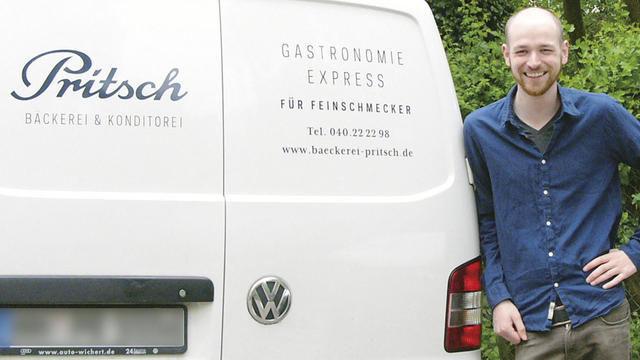 Max Pritsch ist 2011 in dritter Generation in den Familienbetrieb eingestiegen. (Quelle: Hoenig)