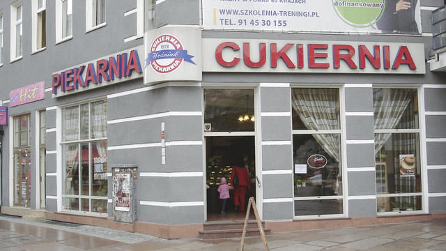 Die Bäckerei und Konditorei Wozniak in Stettin liefert und betreibt sechs Filialen. (Quelle: Treiber)
