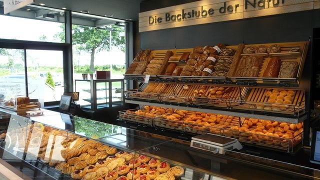 Unser Redakteur Andreas Richter hat die Braaker Mühle in Braak besichtigt, die unter anderem auch Biomehl herstellt und Backwaren in der eigenen Bäckerei verkauft.   (Quelle: Andreas Richter)