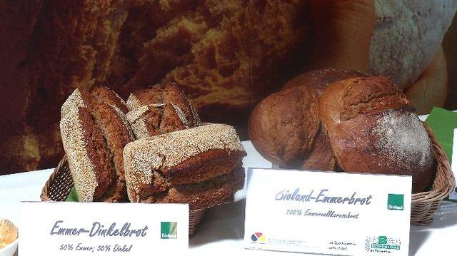 Dinkel- und Emmerbrot - In Bäckereien, wegen aktuellen Ernährungstrends, häufiger anzutreffen. (Quelle: Archiv / Wolf)