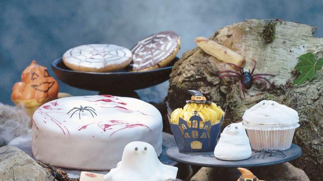 Grusel-Deko zu Halloween (Quelle: Thomas Bach)