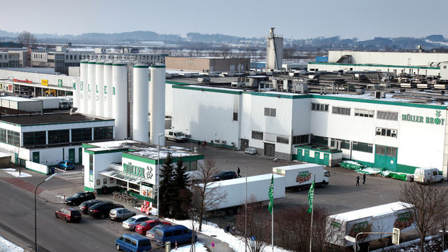 Die Produktion von Müller-Brot in Neufahrn bei München ist seit der Insolvenz im Februar 2012 geschlossen. (Quelle: Archiv)