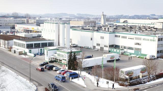 Die Produktionsstätte von Müller-Brot in Neufahrn bei München ist seit der Insolvenz 2012 stillgelegt. (Quelle: Archiv)