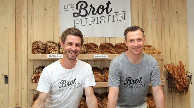 Sebastian Däuwel (links) und Daniel Petruccelli konzentrieren sich bei ihren Produkten auf die wesentlichen Zutaten. Getreu dem Motto: Weniger ist mehr.  (Quelle: Lenz)