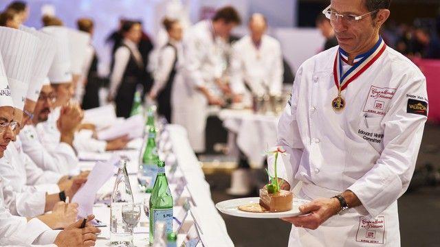 Bei der Weltmeisterschaft der Pâtissiers können sich ambitionierte Bäcker und Konditoren inspirieren lassen.   (Quelle: Messe)
