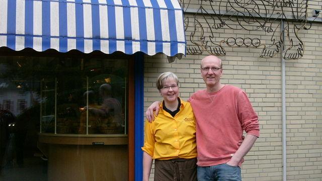 Cornelia und Mario Sievers stehen für die gute Laune im Betrieb. (Quelle: Hoenig)