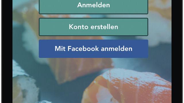 So sieht die App fürs Smartphone aus. (Quelle: privat)