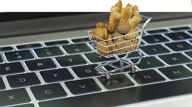 Gar nicht mehr so neue Einkaufswelt: Brot online bestellen. (Quelle: Fotolia, Archiv/Montage: Gugel)