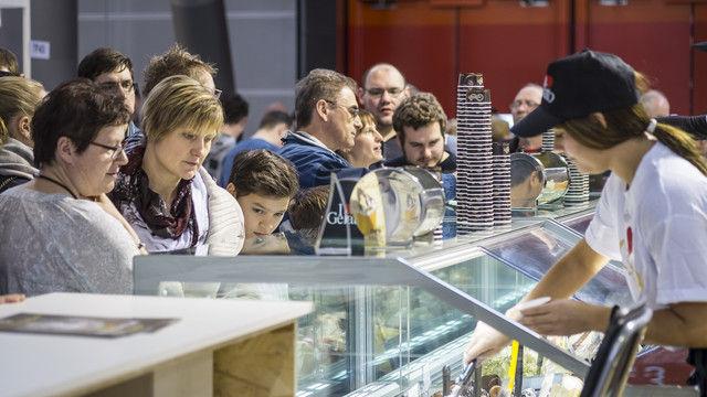 """Den Themen """"Eis & Kaffee"""" soll auf der Intergastra 2018 mehr Raum zur Verfügung stehen. (Quelle: Messe Stuttgart)"""