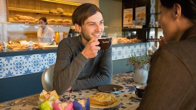 Mit einer eigenen Kaffeemarke will die Bäckerei Treiber Kunden an sich binden.  (Quelle: Unternehmen)