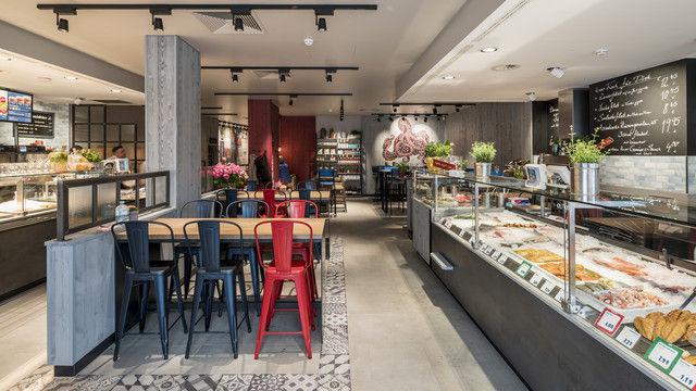 Der neue Flagship-Store in Darmstadt kombiniert den Vintage-Look mit modernen Elementen. (Quelle: Unternehmen)