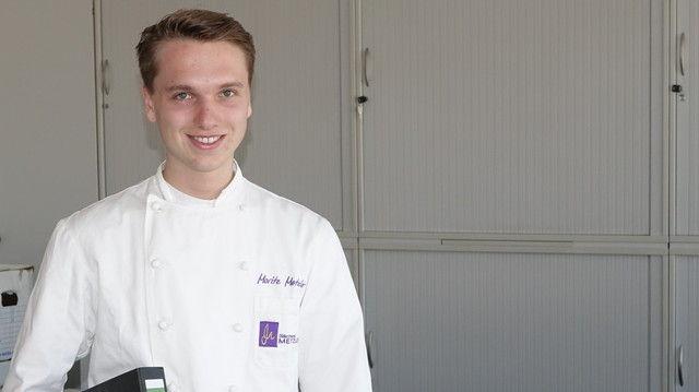 Zielstrebig: Moritz Metzler studiert dual BWL und Handerk in Stuttgart. (Quelle: Thumm)