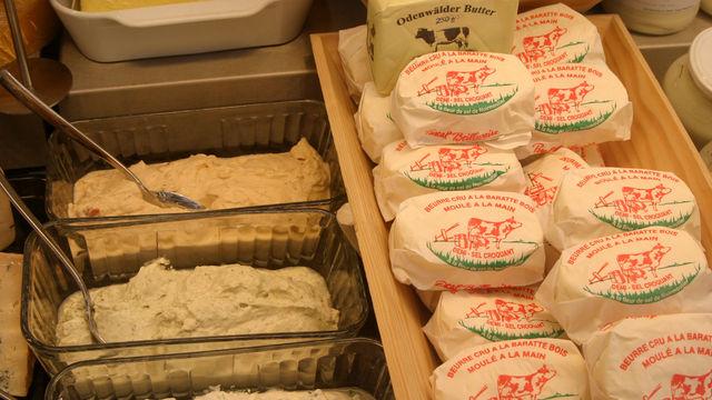 """""""Butter"""" dürfen nur Produkte genannt werden, die aus tierischem Eutersekret bestehen.    (Quelle: Archiv/ Heck)"""