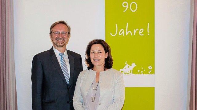 Doppelspitze: Johannes Klümpers (links) und Cornelia Veit.  (Quelle: Unternehmen)