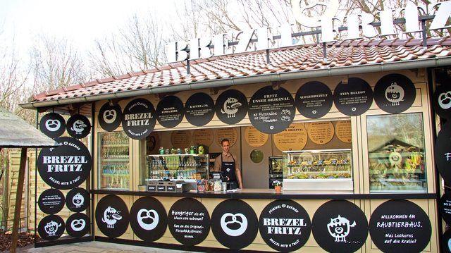 Das Laugen-Konzept Brezel-Fritz legt den Fokus auf die Brezel als heißen Snack für zwischendurch.  (Quelle: Untenehmen)