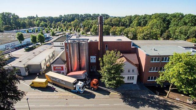 Die Großbäckerei Mestemacher am Stammsitz in Gütersloh. (Quelle: Archiv/Unternehmen)