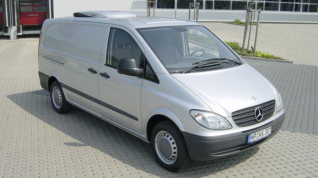 Transporter haben ein anderes Fahrverhalten als Pkws. (Quelle: Archiv/Unternehmen)