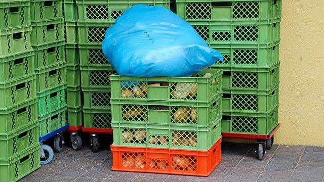Der Bundesverband der Tafeln fordert ein Umdenken bei der Lebensmittelverschwendung. (Quelle: Archiv/ Kauffmann)