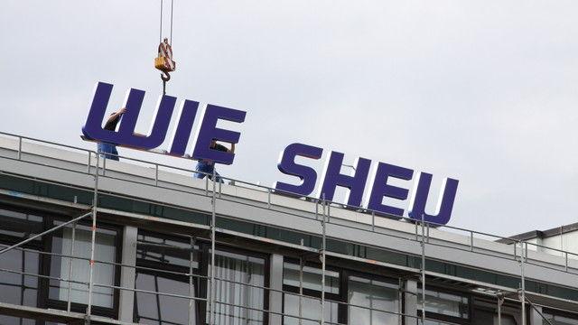 Verlegung des Firmensitzes: Das Wiesheu-Logo hat einen neuen Platz gefunden. (Quelle: Unternehmen)