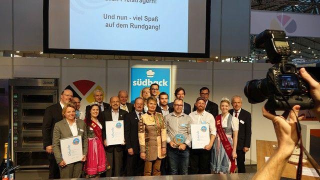 Zur Eröffnung der Messe erhielten die Preisträger des Trend Awards ihre Preise. (Quelle: Foto: Wolf)