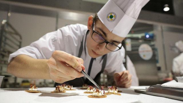 Auf der Intergastra geht es auch um Kochkunst. (Quelle: Messe Stuttgart)