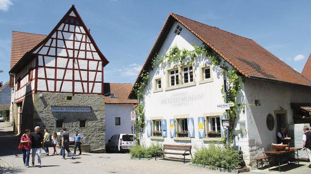 Das Bäckereimuseum in Kraichtal befindet sich in einem Gebäude, das 1880 als Backhaus gebaut worden war. (Quelle: Treiber)