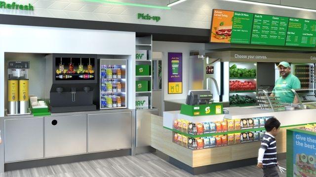 Die Subway-Restaurants sollen alle wie in diesem Modellfoto ersichtlich umgestaltet werden. (Quelle: Symbolfoto: Unternehmen)